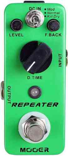 MOOER Repeater Digital delay pedaali