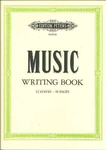 NUOTTIVIHKO MUSIC WRITING BOOK 12 S