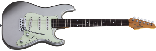 Schecter NICK JOHNSTON Traditional, Atomic Silver